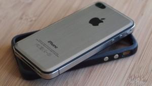 So sieht das iPhone 4 nach dem kleinen Eingriff aus.