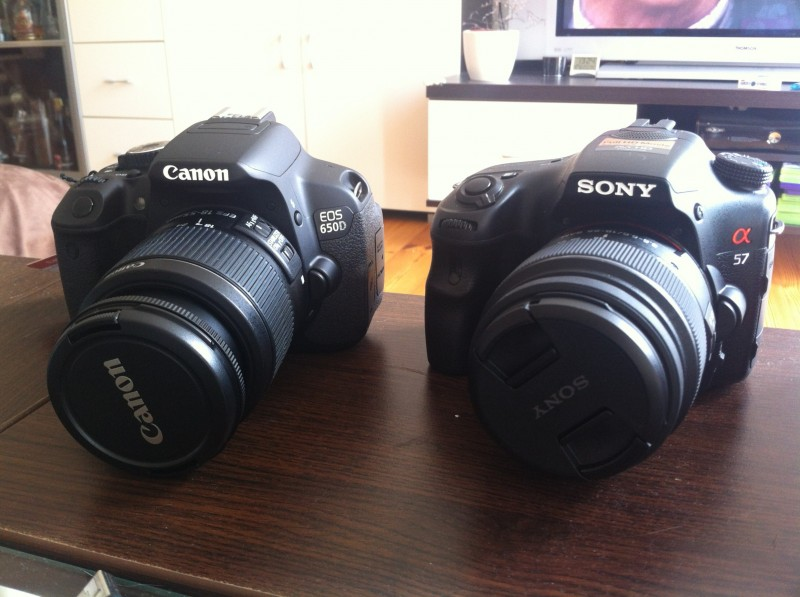 Sony Alpha 57 vs Canon EOS 650D