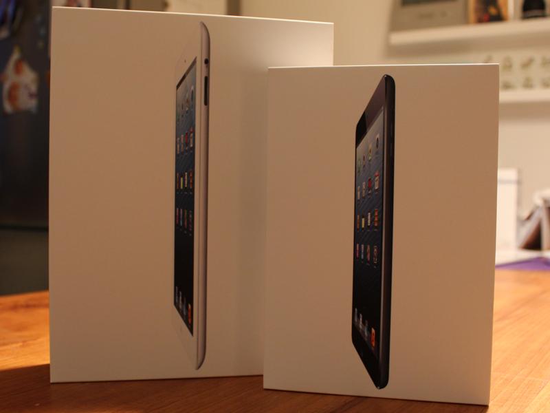 iPad mini und iPad 4 im Gadget Magazin Unboxing
