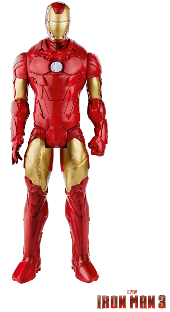 A1709E27 IM3 Iron Man Giant Action Figur Inhalt