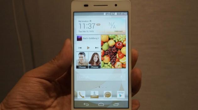 Launchevent Huawei Ascend P6
