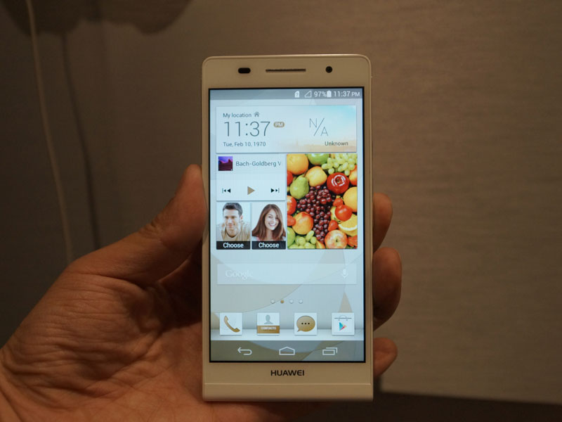 Launchevent Huawei Ascend P6