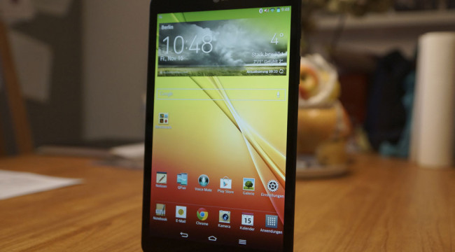 Unboxing Video zum LG G Pad 8.3