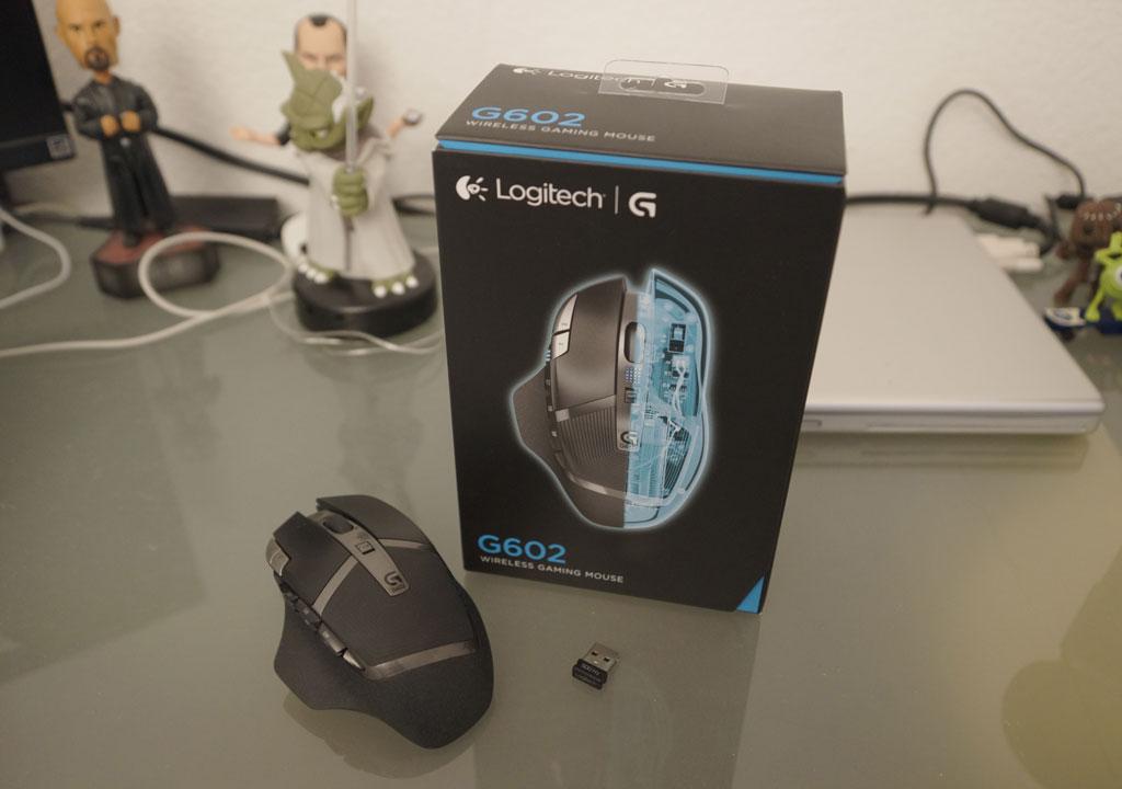 Ausgepackt: Logitech G602 Gaming Mouse